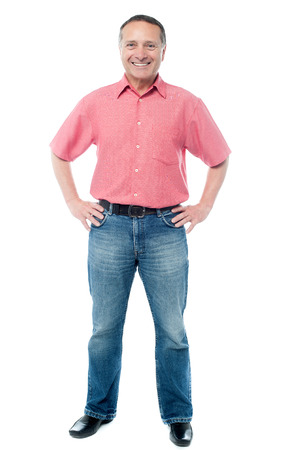 casually: Casually dressed handsome man Stock Photo