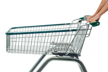 add to cart: Shopping cart, e-commerce concept.