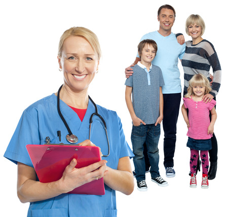 ensures: Regular checkup ensures your familys good health