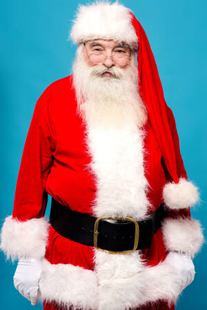santaclaus: Image of a santa-claus ready to  entertain on xmas eve