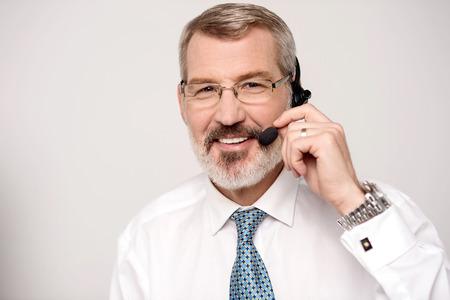 call center agent: