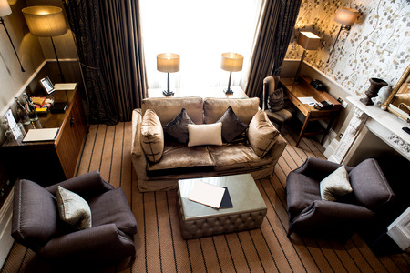 alumbrado: Precioso apartamento de lujo con muebles modernos