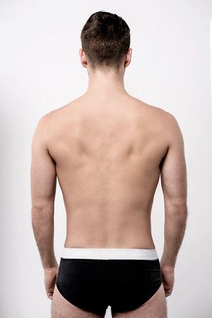 jungen unterw�sche: Perfekte Passform Mann von hinten in Unterw�sche