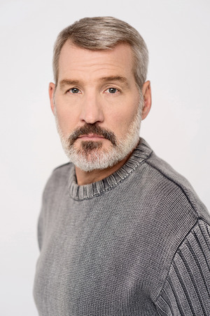 aged: Middle aged caucasian male model posing