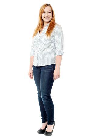 full length: Full length shot of a trendy woman