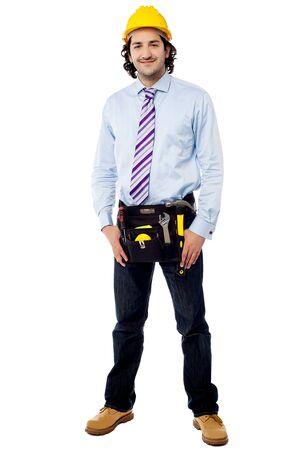 full length: Full length shot of handsome architect Stock Photo