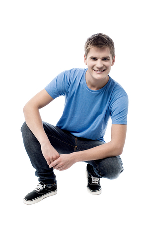 cool guy: Cool handsome guy posing in style Stock Photo