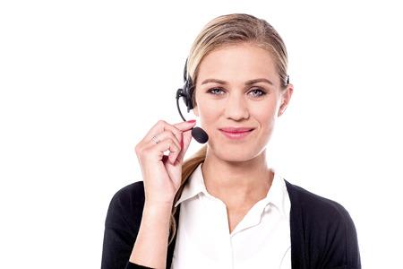 Kundenbetreuung Exekutive zu Ihren Diensten