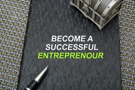 company secrets: Become a successful entreprenour book cover.