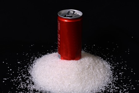 carbonated drink: High Amount of Sugar in each Carbonated cold drink concept.