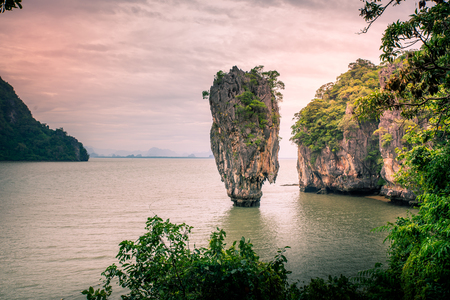 Amazing and Breathtaking View of Beautiful Island, Thailand