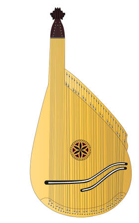bandura, ethnical ukrainian musical string instrument, which was traditionally played by ancient ukrainian warriors - cossacs and wandering folk singers - konzars. another, more traditional name for the instrument is kobza.