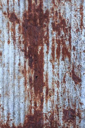 galvanized: Galvanized iron with stain