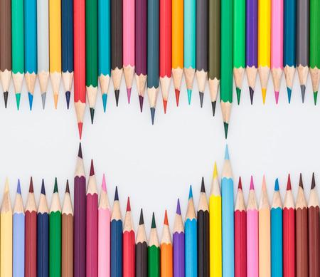 descriptive color: Heart shape