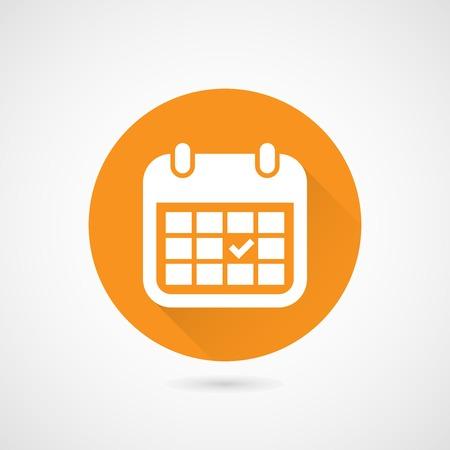 Month calendar flat style icon