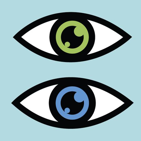 outlook: Symbolic eye icon