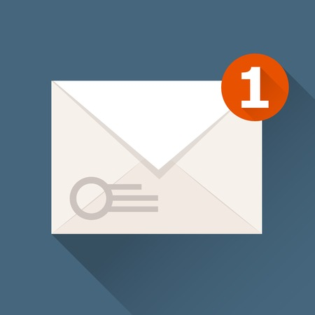 notification: New incoming message (notification) icon - envelope