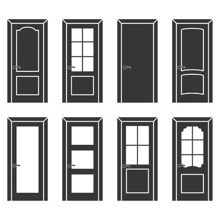 doorframe: Different design door set