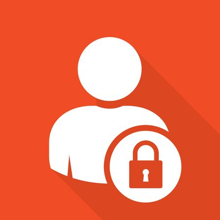 User log in icon - access and authentication