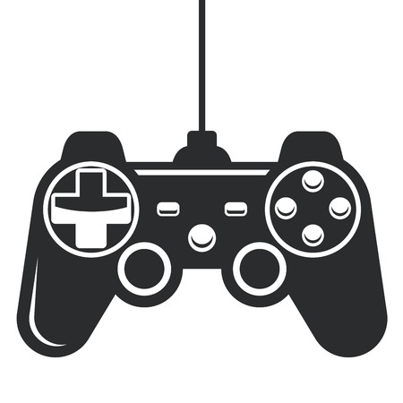 gamepad: Gamepad icon - joystick for game console
