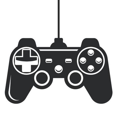joypad: Gamepad icon - joystick for game console