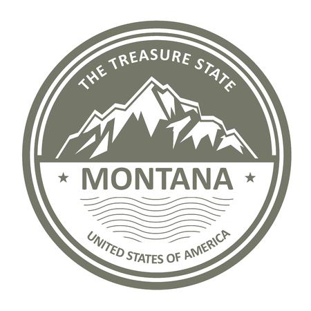 snowbound: Montana Mountains - Snowbound mountain label