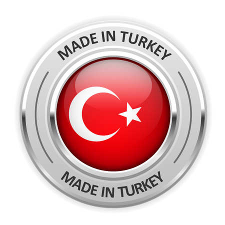 manufacturer: Silver medal Made in Turkey with flag