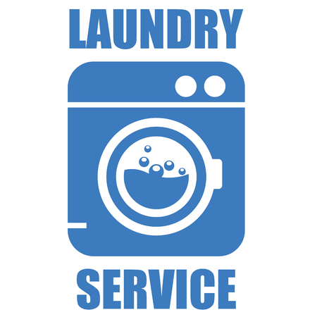 washhouse: Laundry (washhouse) service simple icon