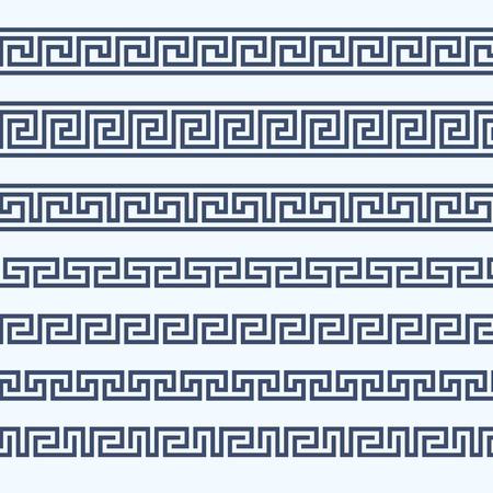 grecian: Greek pattern border - grecian ornament