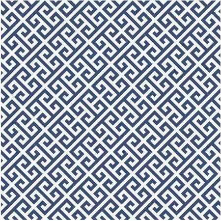 oxbow: Meander diagonal pattern - greek ornament background