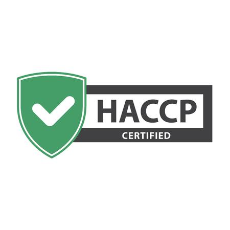 HACCP certificate plate - website emblem of HACCP standard