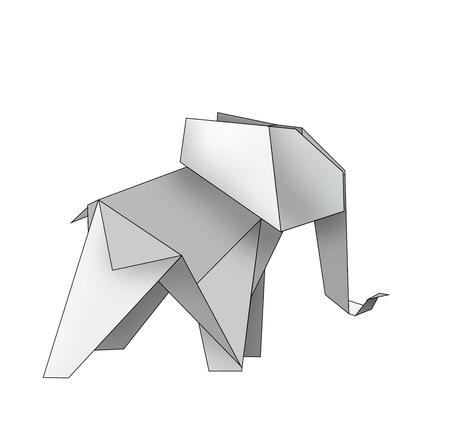proboscis: origami made elephant