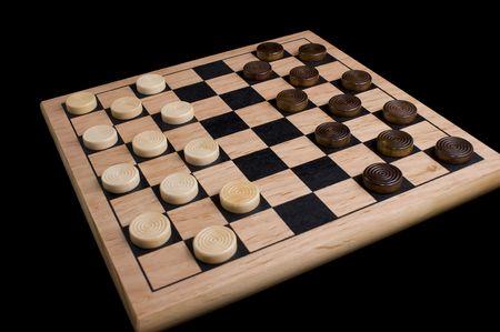 checker board: Junta de corrector  Foto de archivo