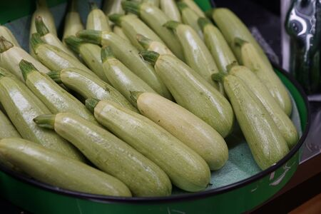 Organic Zucchini stock photo Banco de Imagens