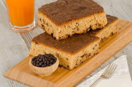homemade cake from turkish cuisine