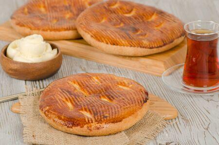 pastry from turkish cuisine Foto de archivo