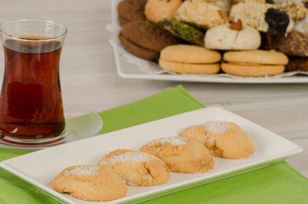 cookies from turkish cuisine Foto de archivo