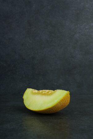 fresh melon stock photo Banco de Imagens