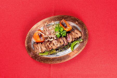 Traditional Turkish kebab