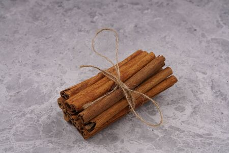 Organic Raw Brown Cinnamon stock photo Stock Photo