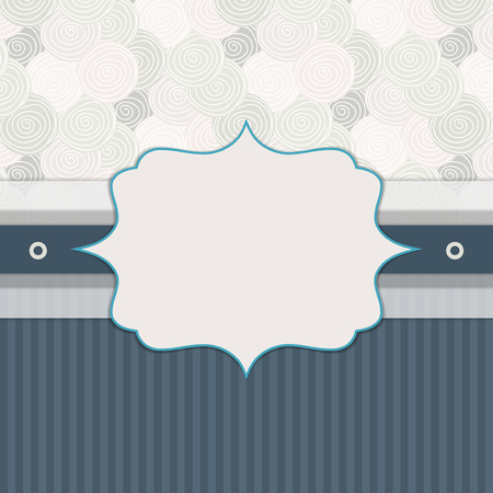 complimentary: Abstract Invitation Card