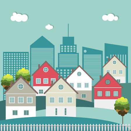 case colorate: Case colorate, concetto di bene immobile