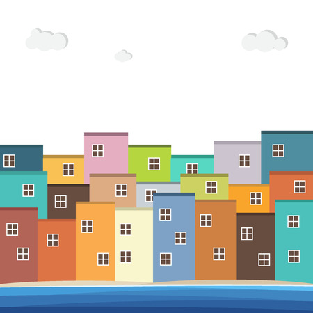Colorful Houses For Sale / Rent. Real Estate