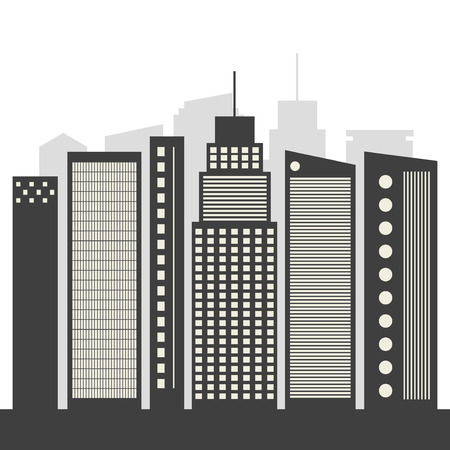 skylines: Abstract Skylines, Business City Concept
