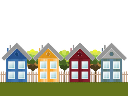wooden houses: Modern Wooden Houses, Colorful City