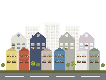 greensward: Modern City Concept Illustration