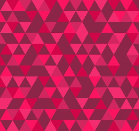 Abstract Geometric Pattern Background Made Of Colorful Asymmetric Triangles