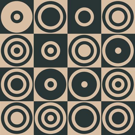 Stylish Geometric Pattern Background With Circles Standard-Bild - 118200569