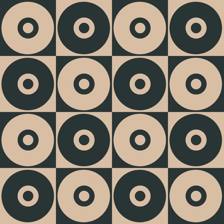 Stylish Geometric Pattern Background With Circles Standard-Bild - 118200570