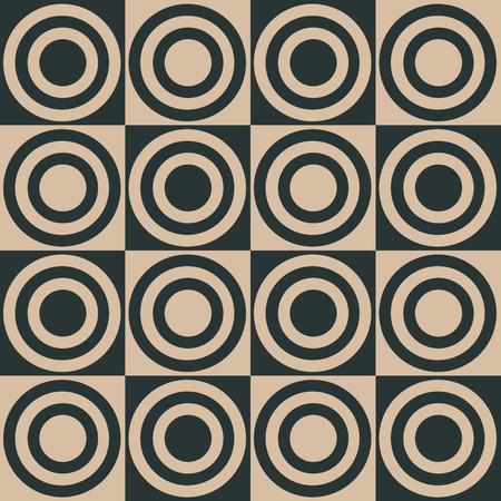 Stylish Geometric Pattern Background With Circles Standard-Bild - 118200574